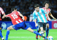 Messi shines in Chile